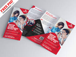 Brochure Template Design Free Business Tri Fold Brochure Template Design Psd By Psd