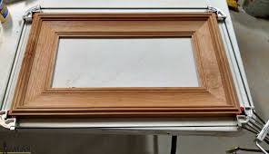 how to resize a wood picture frame