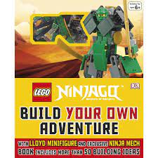 LEGO Ninjago Build Your Own Adventure Book Online in Dubai & UAE