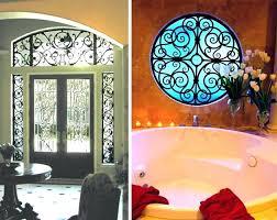 faux wrought iron window inserts create transom windows in s tableaux brochure faux iron window inserts rod insert