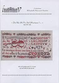 Isabelle Vautier Free Charts Isabelle Vautier Do Re Mi Fa Sol Musique Chart Buy Online