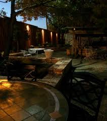 fence lighting tree down lights installed in dallas tx by dallas landscape lighting