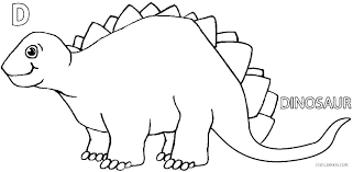 Dinosaur Colouring Pages For Kids Printable Dinosaurs Coloring Pages