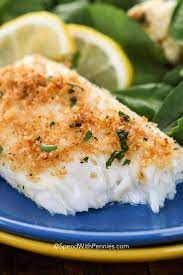 easy baked tilapia or cod spend