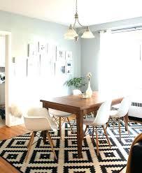 rug under round kitchen table.  Rug Round Kitchen Table Rugs Rug Under Throughout Plan 14 On R