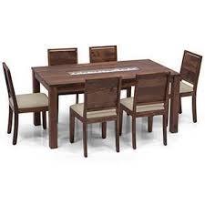 perfect dining table for 6 set in chennai urban ladder brighton oribi seater teak finish wheat