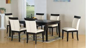 Kitchen And Dining Room Furniture White Round Dining Table Set Marble Round Dining Set Morenza
