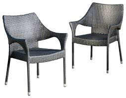 outdoor wicker chairs outdoor gray wicker chairs set of 2 contemporary outdoor dining chairs outdoor wicker