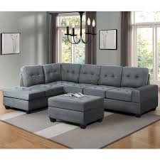 right facing sectional sofa with