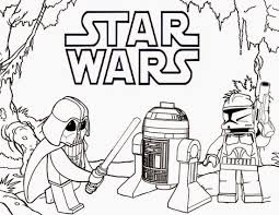 Small Picture Printable Star Wars Coloring Pages For Kids Lego To Print adult