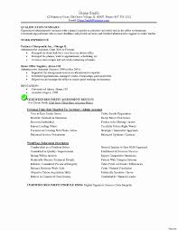 Resume Template For Administrative Position Inspirational Executive