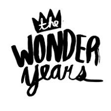 the wonder years band logo. Plain Logo With The Wonder Years Band Logo E