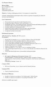 Tax Accountant Resume Adorable Tax Preparer Resume Sample Awesome References Resume Samples Rio
