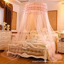 Amazon.com: Lustar Princess Mosquito Net Dome Bed Canopy for ...