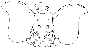 Small Picture Inspirational Dumbo Coloring Pages 69 On Picture Coloring Page