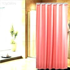 salmon colored curtains shower curtain c full size of