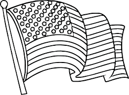 American Flag Coloring Pages Coloring Page Of Flag Free Printable