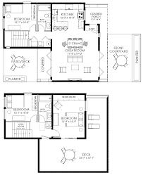 small contemporary beach house plans