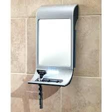 shaving mirror for shower showers the design ideas anti fog medium image play best suction c