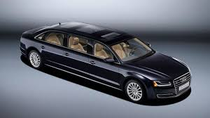 Audi spent a year building this custom A8L limo for a mystery ...