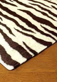 brown zebra rug 8x10 brown zebra print rug brown zebra rug
