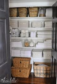 bathroom closet ideas. Large Stackable Baskets Like These Ones On The Bottom From @homegoods Are A Great · Organize Bathroom ClosetBathroom Closet Ideas Z