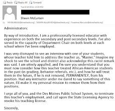 Teacher Tells Black Student to Call Him Master – Unite4Humanity