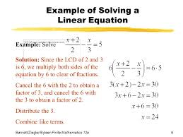 linear equation problems with answers tessshlo