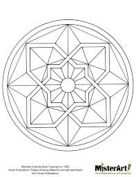 Small Picture Free Mosaic Patterns To Print Free Coloring Page Mandala