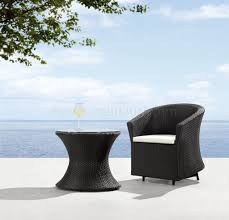 image modern wicker patio furniture. furnitureexcellent modern wicker patio furniture with pod and white cushions on image s