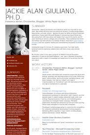Freelance Writer Resume Example Examples Of Resumes