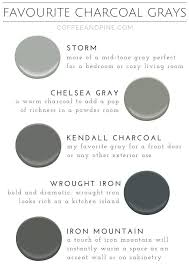 Favorite Charcoal Grays Coffee And Pine Gray Paint Colors House Benjamin Moore Dark Exterior