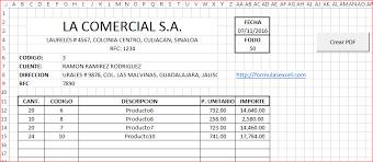 Cotizaciones Con Formulas Excel Y Vba Formulas Excel