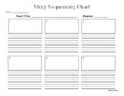 Graphic Organizers Sequence Of Events Chart Freebie Story Sequencing Chart Graphic Organizer For Chapters