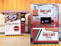 Vending Machine Restaurant Singapore Magnificent The Largest Vending Machine Cluster In Singapore Dispenses DIY