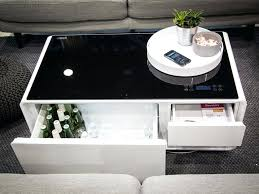 magnificent smart coffee table fridge awesome smart coffee table w fridge speakers led lights and