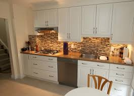 Antique Backsplash for White Kitchen | All Home Decorations
