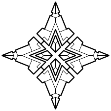 Small Picture Geometric Coloring Pages For Adults