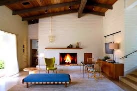 furniturefetching easy ways add mid century modern style your home fireplace tools midcentury mantle add midcentury modern style