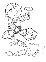 Small Picture Bob The Builder Coloring Pages olegandreevme