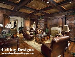 modern false ceiling designs for living room from wood with lights