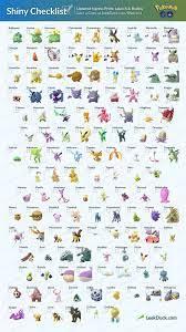 Pokémon Go: Complete list of Shiny Pokémon for November 2018 | iMore |  Shiny pokemon, Pokemon eeveelutions, 150 pokemon