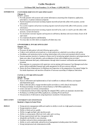 It Specialist Resume Examples Intake Specialist Resume Samples Velvet Jobs 19