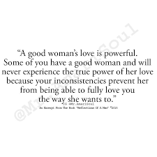 Quote Of Good Woman