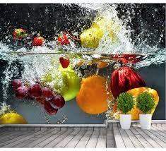 fresh fruit wallpaper. Exellent Fresh Custom Photo Wallpaper Fresh Fruit For Walls 3 D Dessert Kitchen  Restaurant Vinyl With Fresh Wallpaper D