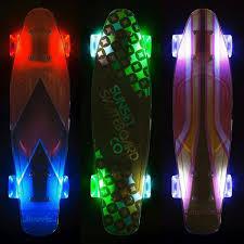 Light Up Longboard Wheels Sumo Market