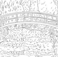 Small Picture Artist of the Month Monet monet coloring pages for kids Claude
