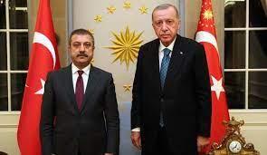 Cumhurbaşkanı Erdoğan, Merkez Bankası Başkanı Kavcıoğlu'nu kabul etti -  Ekonomi Haberleri