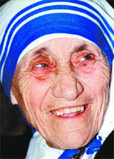 I feel humble when I meet people like Mother Teresa who dedicate their lives looking after sick and needy persons - teresa