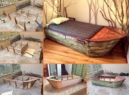 cool diy kids beds.  Kids Creative Ideas  DIY Amazing Boat Bed With Cool Diy Kids Beds S